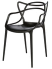 Philippe Starck Masters Chair Replica Package x 4 - Black
