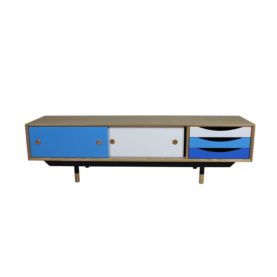 Finn Juhl Style TV and Entertainment Unit