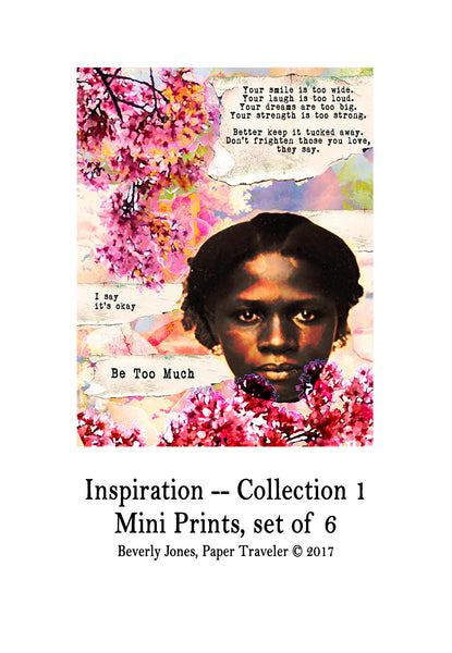Art Prints -- Mini Art Prints -- Inspiration, Collection I