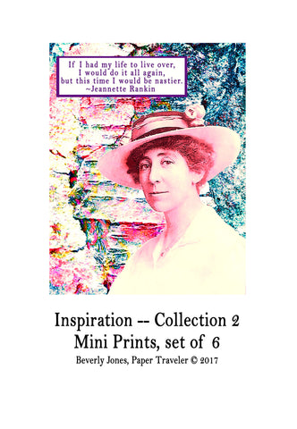 Art Prints -- Mini Art Prints -- Inspiration, Collection 2