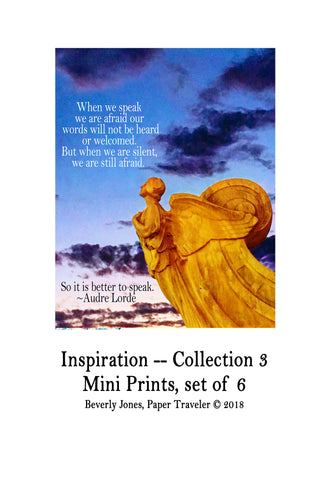 Art Prints -- Mini Art Prints -- Inspiration, Collection 3