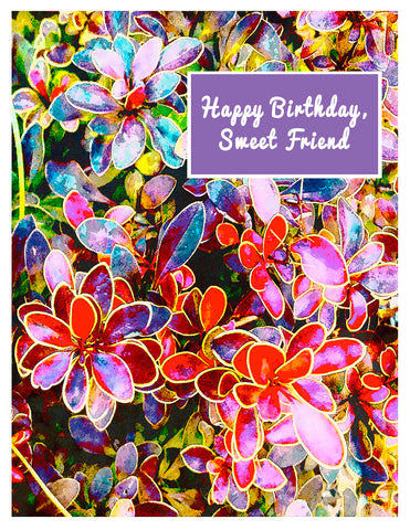 Birthday -- Birthday Sweet Friend