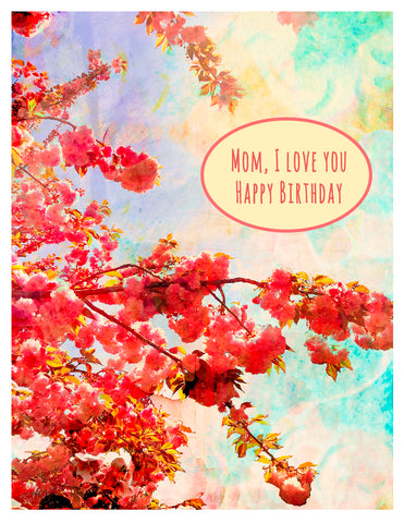 Birthday -- Happy Birthday, Mom