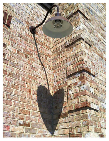 Love -- Brick Wall Shadow Heart