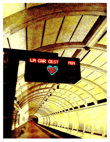 Blank -- Washington DC Heart of DC Metro