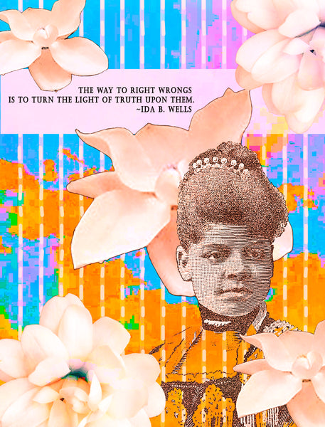 Art Prints -- Ida B. Wells Light of Truth