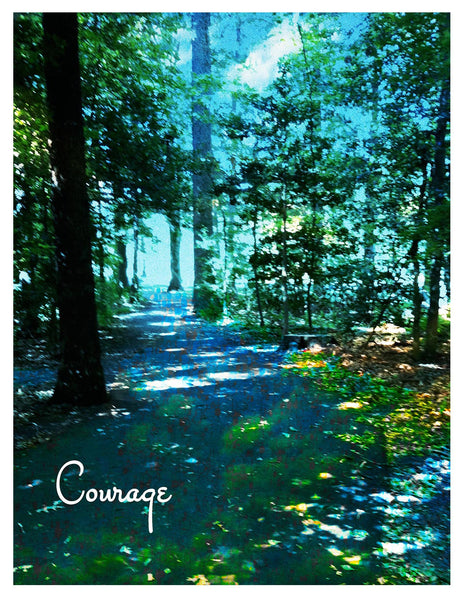 Photograph -- Courage