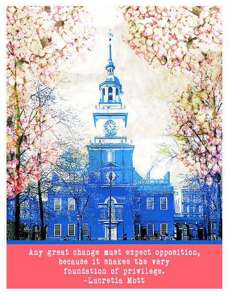 Photograph -- Philadelphia Independence Hall Great Change