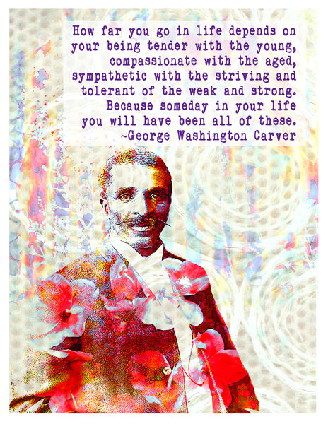 Photograph -- George Washington Carver Compassion