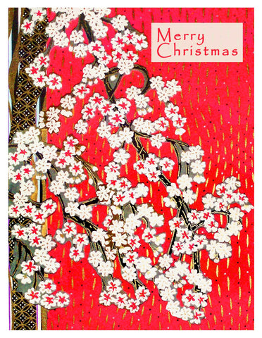 Holiday -- Christmas Plum Branch