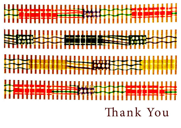 Thank You -- Washi Bright Stripes Thanks