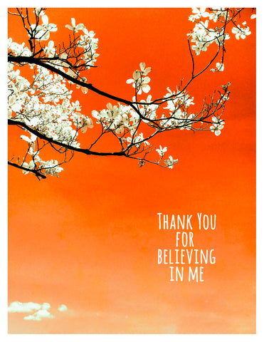 Thank You -- Believe