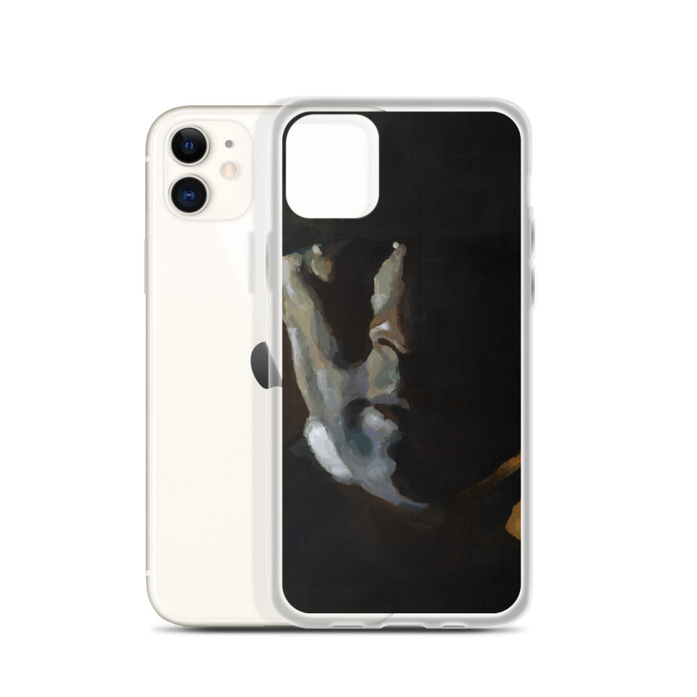 """Face"" by Geep - iPhone Case - redrockartstudios"