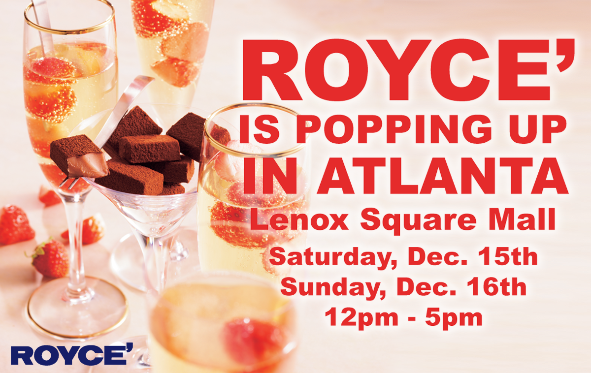 Attention Atlanta: ROYCE' is Popping Up on December 15th & 16th!