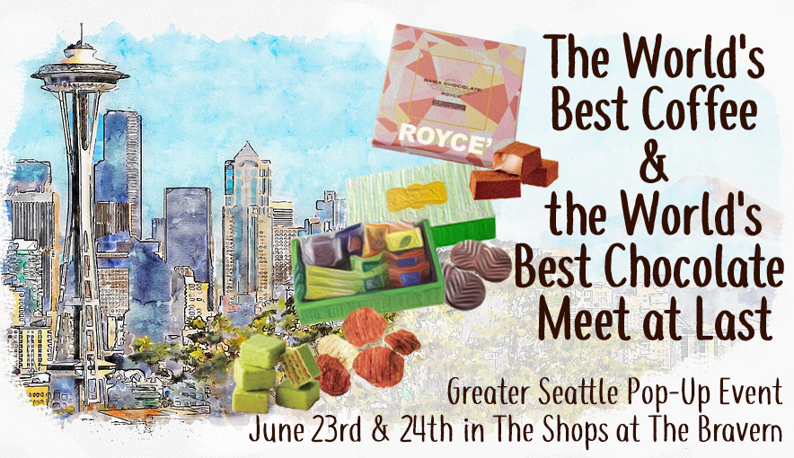 Pop-Up Event June 23rd & 24th in Greater Seattle