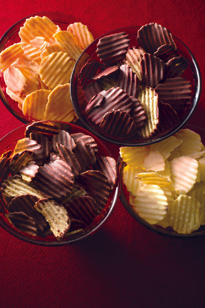 A Unique Combination: Potato Chips and Chocolate