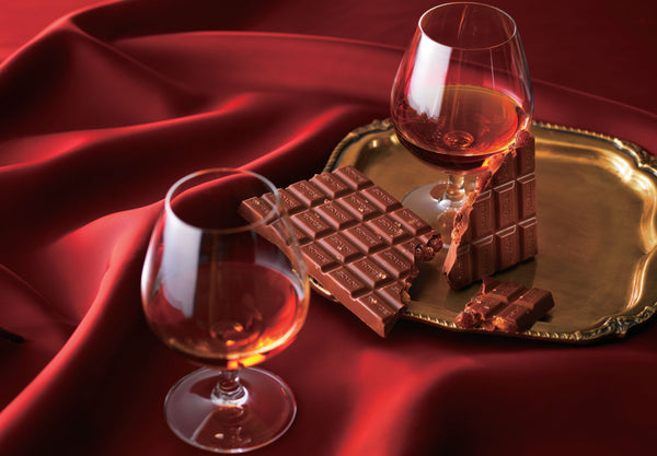 "Chocolate Bar ""Cognac Raisin"""