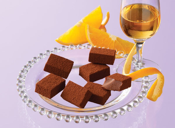 "Nama Chocolate ""Orange Liqueur"""