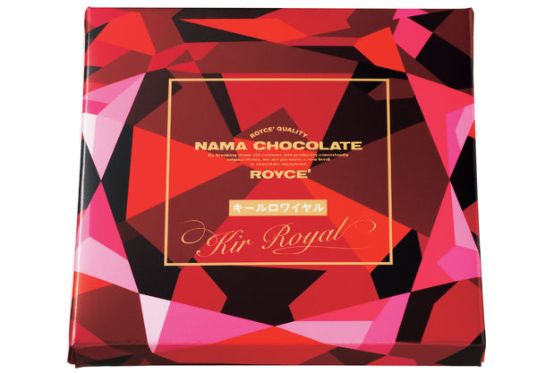 "Nama Chocolate ""Kir Royal"""
