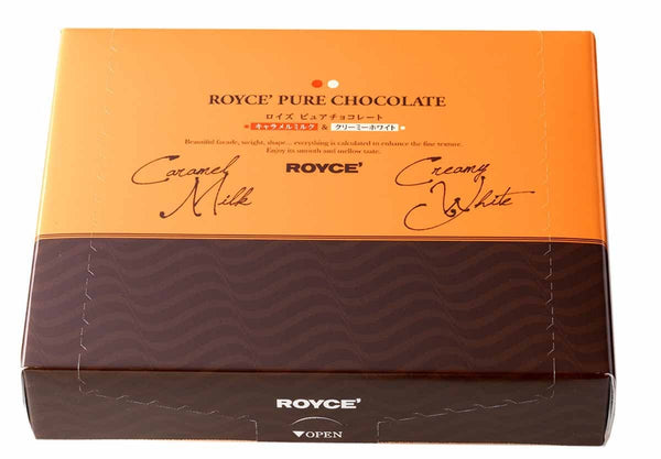 "Pure Chocolate ""Caramel Milk & Creamy White"" - ROYCE' Confect USA Online Boutique"