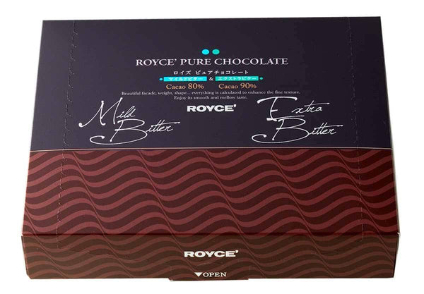 "Pure Chocolate ""Mild Bitter & Extra Bitter"" - ROYCE' Chocolate USA Online Store"