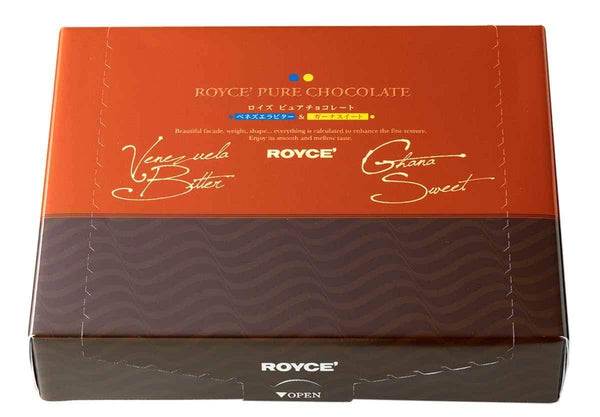 "Pure Chocolate ""Venezuela Bitter & Ghana Sweet"" - ROYCE' Confect USA Online Boutique"