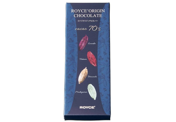 "ROYCE' Origin Chocolate ""Cacao 70%"" - ROYCE' Chocolate USA Online Store"