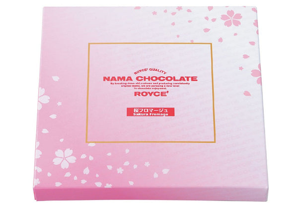 "Nama Chocolate ""Sakura Fromage"""