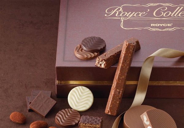 "ROYCE' Collection ""Brown"" packaging"