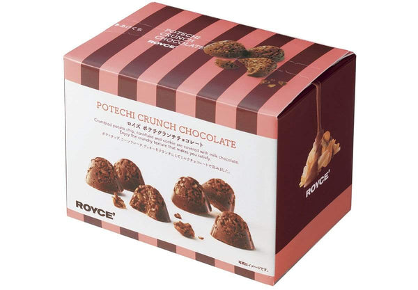 Potechi Crunch Chocolate packaging