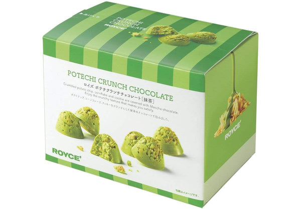 "Potechi Crunch Chocolate ""Matcha"" packaging"