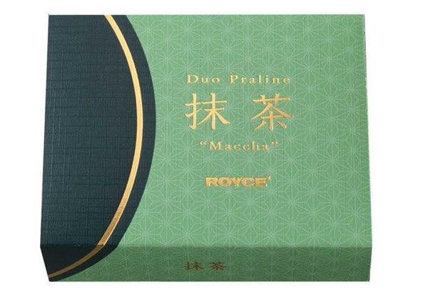 "Duo Praline ""Matcha"" packaging"
