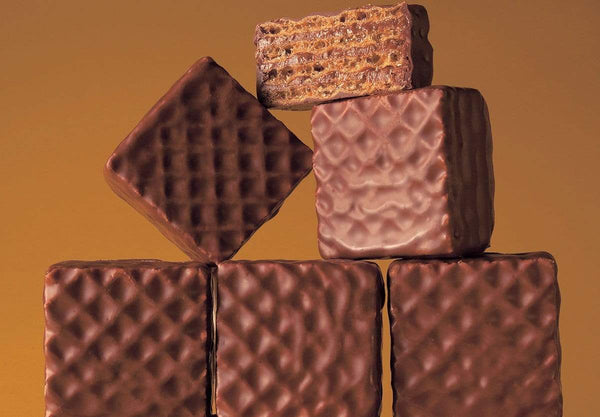 "Chocolate Wafers ""Hazel Cream"" chocolate hazelnut wafers"