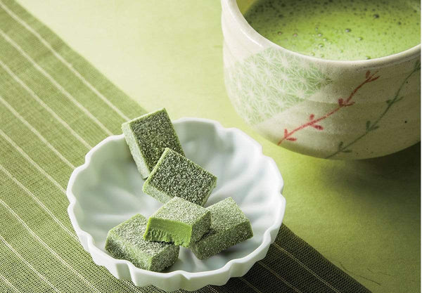 "Nama Chocolate ""Matcha"" soft white chocolate infused with green tea"