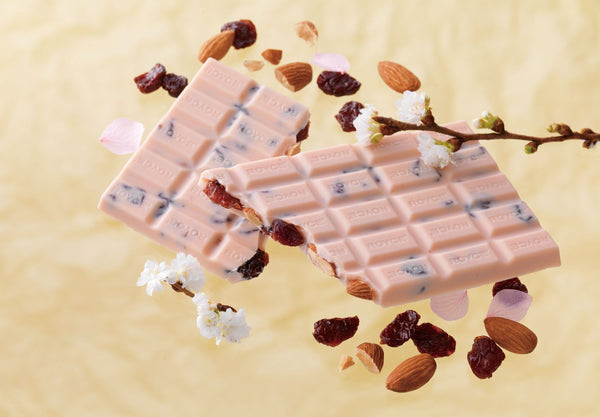 "Chocolate Bar ""Sakura Berry (Cherry & Almond)"" - ROYCE' Chocolate USA Online Store"