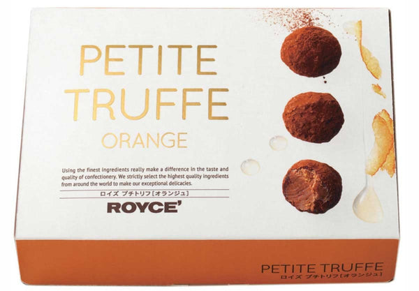 "Petite Truffe ""Orange"" box"