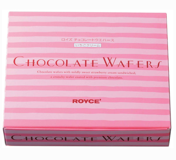 "Chocolate Wafers ""Strawberry Cream"" packaging"