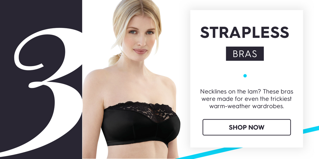Strapless Bras for Summer