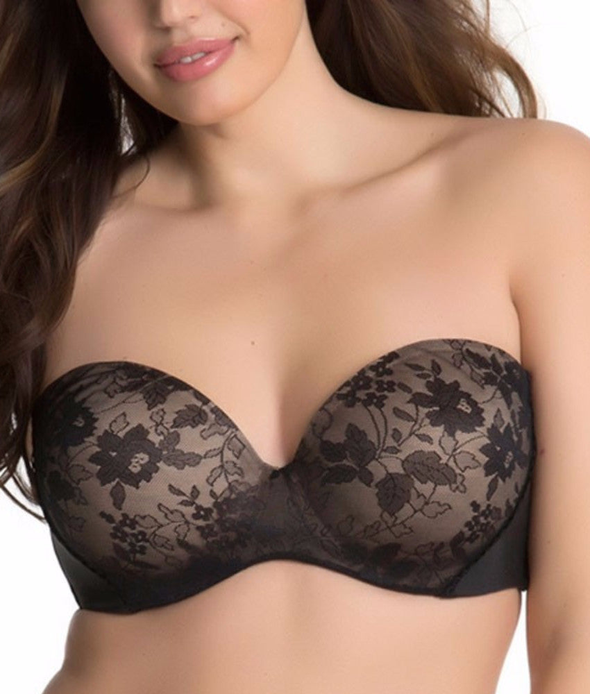 Curvy Couture - Strapless Multi-Way Push-up Convertible Bra