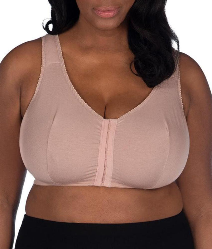 0ef31353615b6 ... Leading Lady Front Close Wire-Free Bra 110 image 6 - Brayola