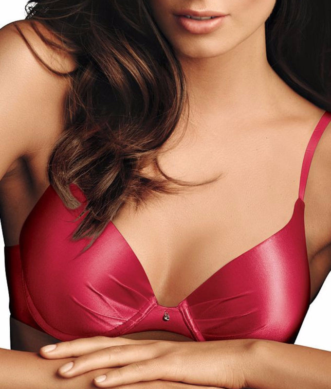 104cc2adab4ca Maidenform Comfort Devotion Plunge Push-Up Bra 9442 at Brayola