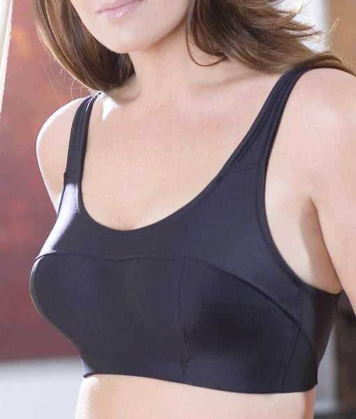Elila Microfiber and Silver Sports Bra 1620