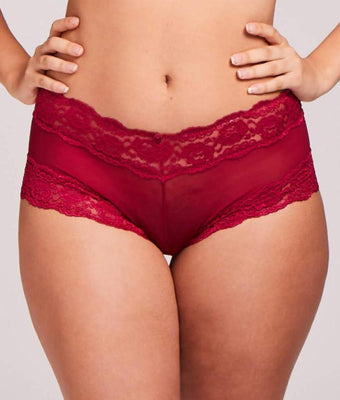 6704ab0efd Q-T Intimates Lace Boyleg Brief Panties 5554QTP