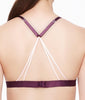 Fleur't With Me Cross Dye Strappy Bralette 2143 image 3 - Brayola