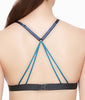 Fleur't With Me Cross Dye Strappy Bralette 2143 image 7 - Brayola