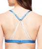 Fleur't With Me Cross Dye Strappy Bralette 2143 image 9 - Brayola