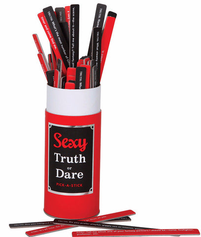Chronicle Books Sexy Truth or Dare Pick-a-Stick 29032