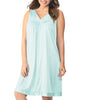 Exquisite Form Knee Length Sleeveless Short Nightgown Plus 30807 image 8 - Brayola