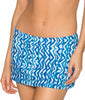 Aquarius Sunsets Kokomo Swim Skirt 36B image 2 - Brayola