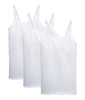 Bright White 3PK Leading Lady Nursing Cami with Built Bra 4025-3PK image 2 - Brayola